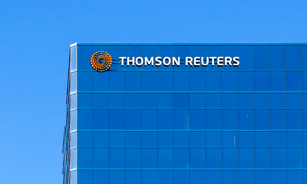 Thomson Reuters acquires cloud-based platform CaseLines, enabling courts to operate virtually