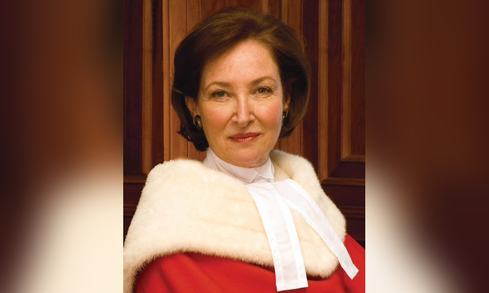 Royal Society of Canada names law student prize after former SCC justice Rosalie Abella