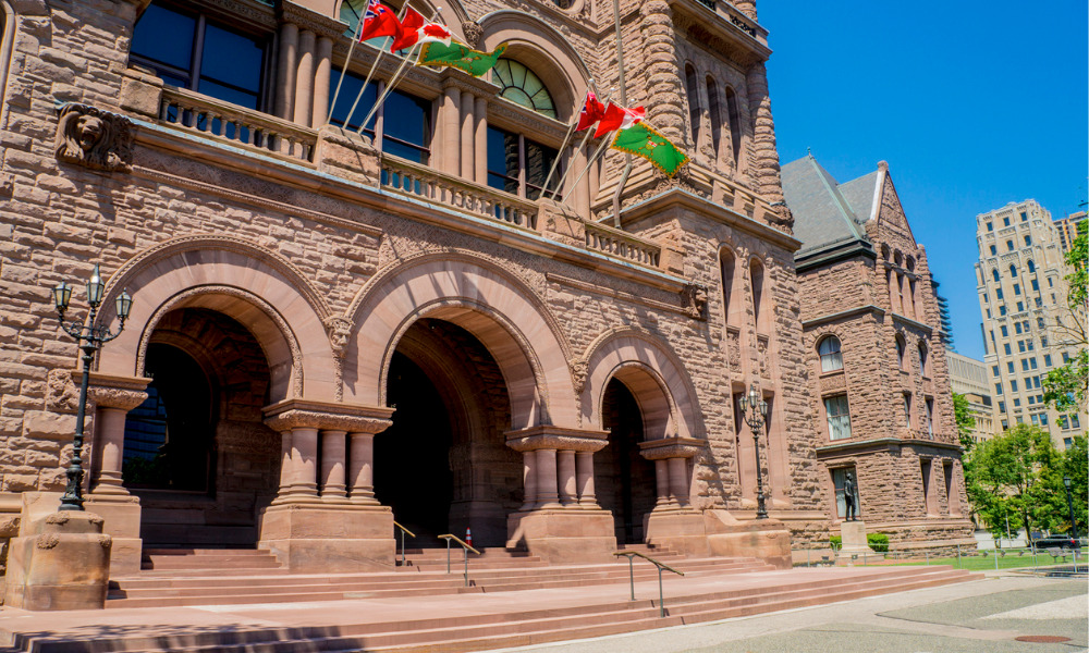Ontario Government's justice reform legislation aimed at modernization