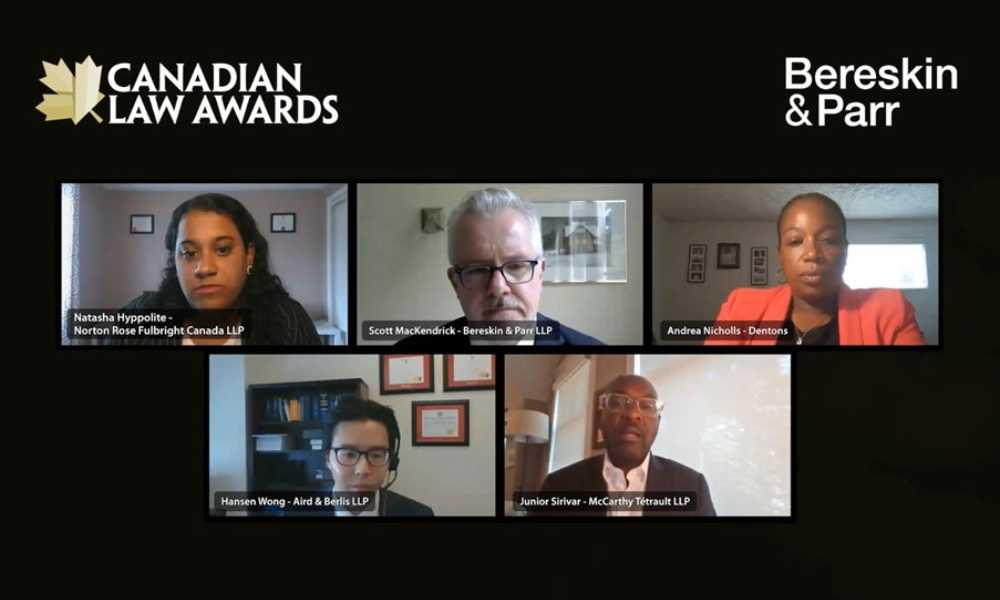 Canadian Law Awards Panel discusses driving change through Diversity and Inclusion initiatives