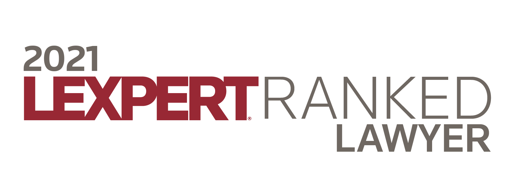 Lexpert-ranked Lawyer