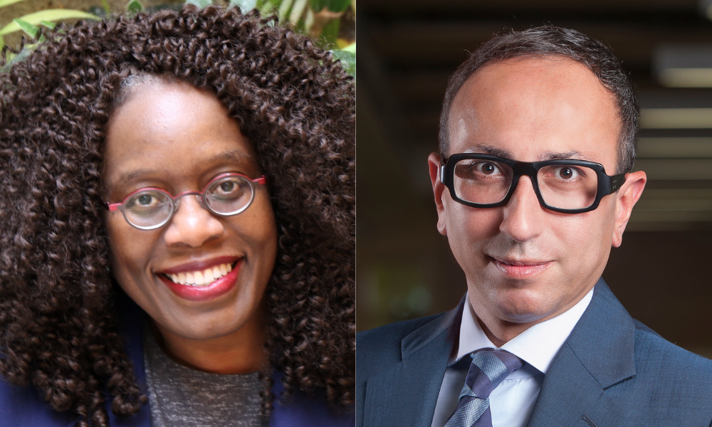 Lincoln Alexander School of Law welcomes Laverne Jacobs, Mohamed Khimji as visiting scholars