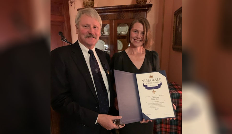 New Brunswick lawyer and honorary consul knighted by King of Norway