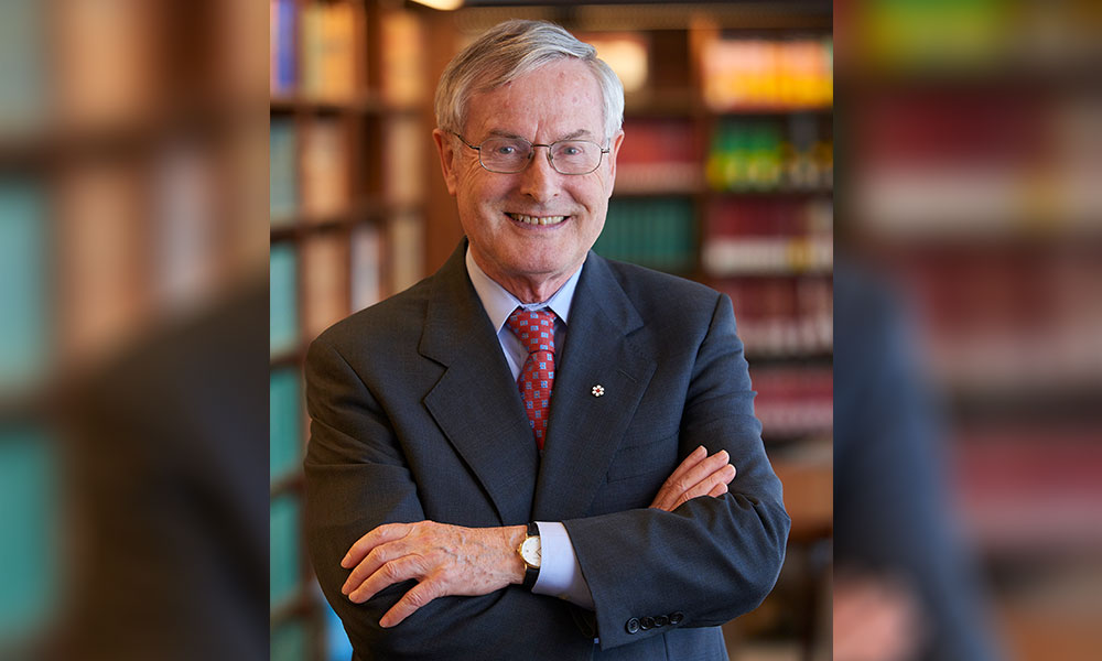 Renowned legal scholar and lawyer Peter Hogg dead at 80