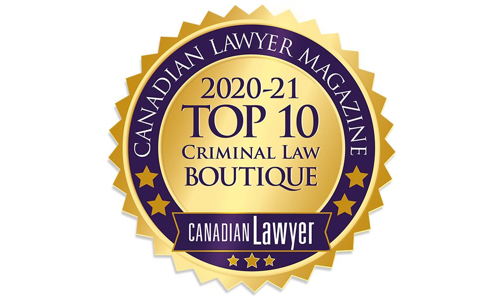 Top Criminal Law Boutiques 2020