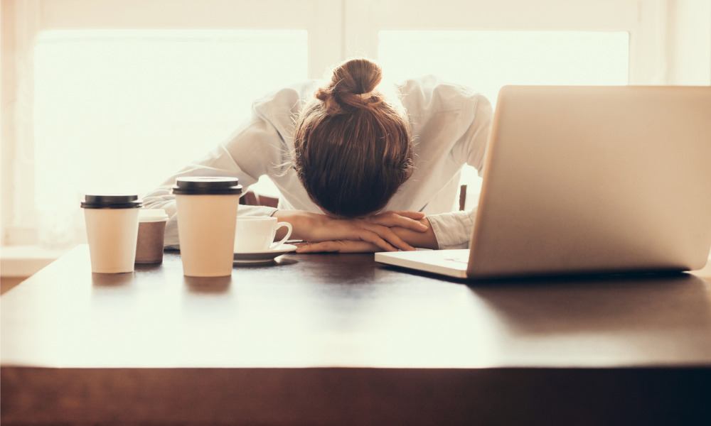 Survey suggests 50% of lawyers see working-from-home having a negative effect on career amid COVID