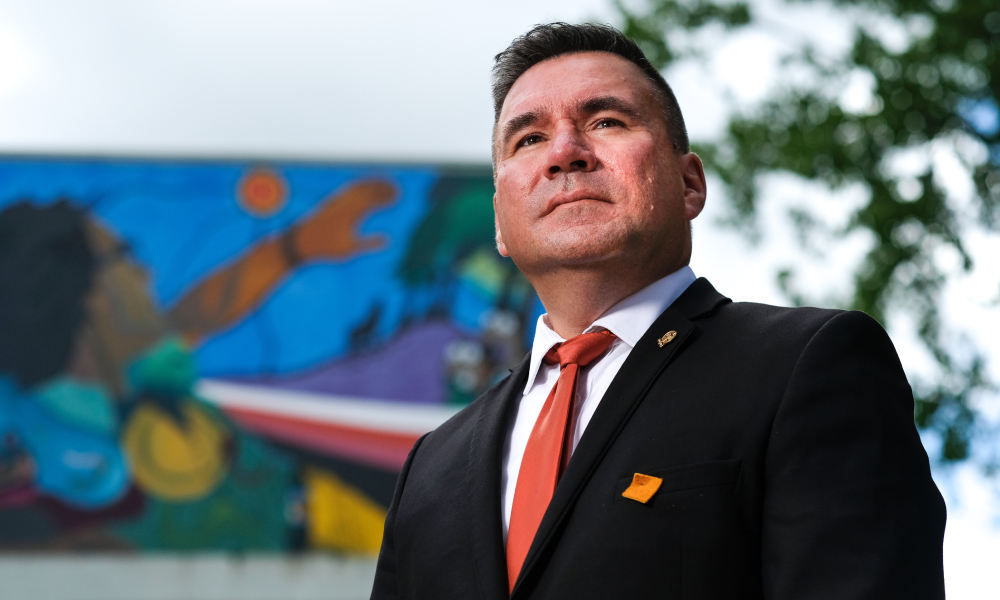 Brad Regehr becomes first Indigenous president of CBA
