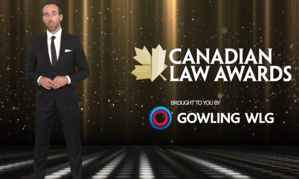 Meet your virtual host for the Canadian Law Awards