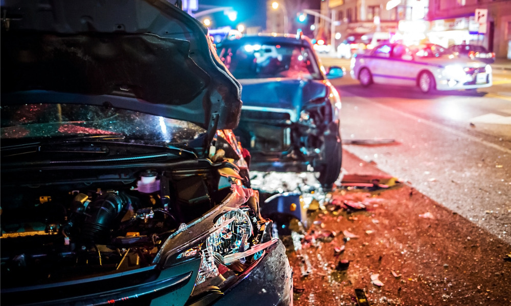 Damages awarded to Insurance Corporation of B.C. for civil fraud in relation to staged collisions
