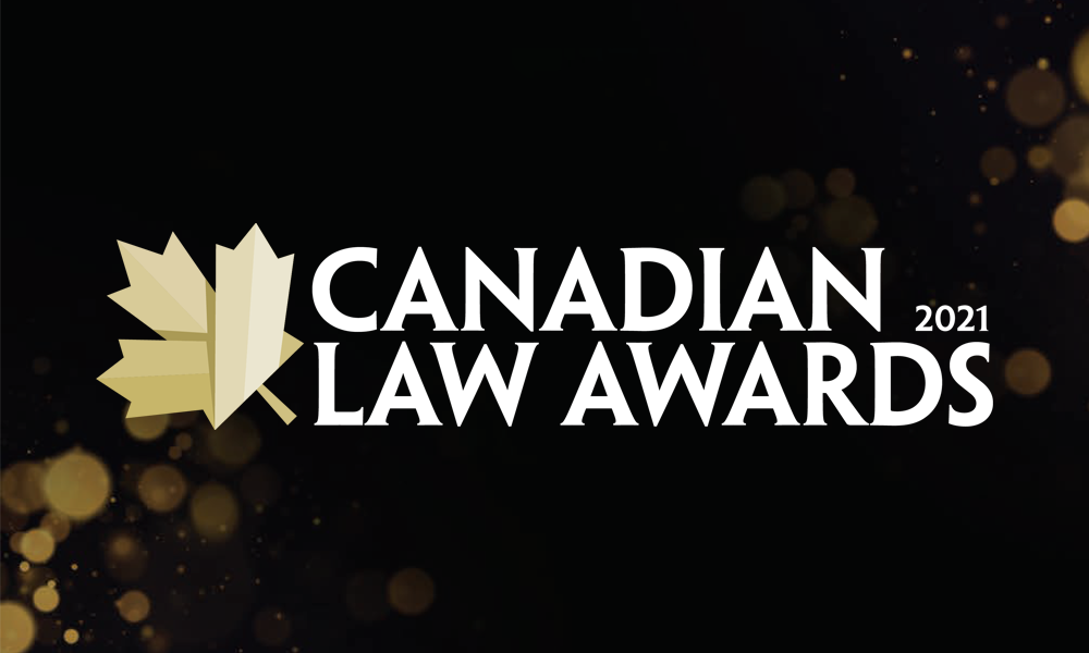 Nominations open: 2021 Canadian Law Awards