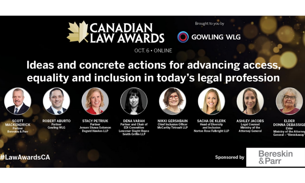 WATCH: Ideas and concrete actions for advancing access, equality and inclusion in today's legal prof