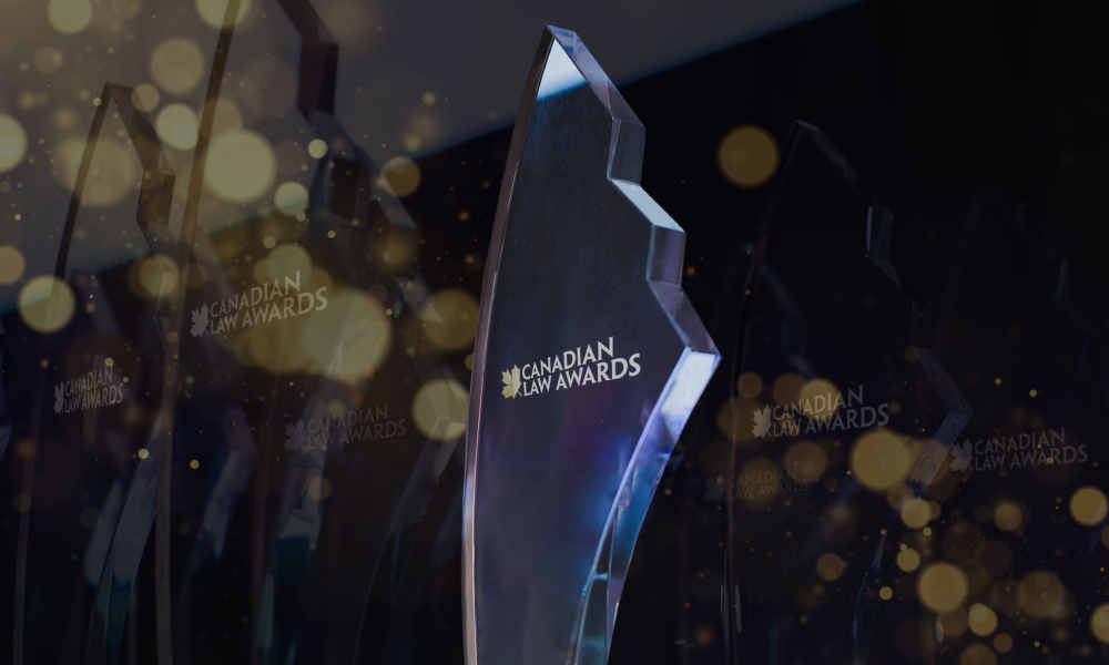 Canadian Law Awards 2021 Excellence Awardees revealed