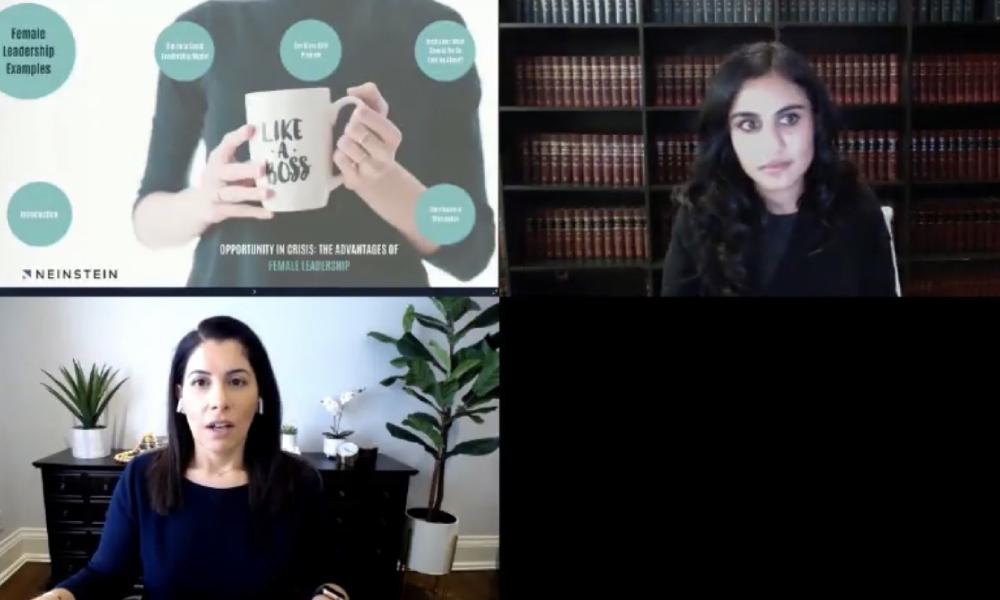 COVID-19 shines light on female leadership models