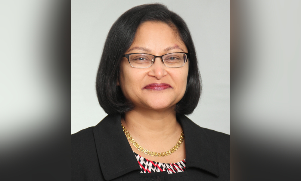 Lucille D'Souza reflects on 20 years in the legal team at Royal Bank of Canada