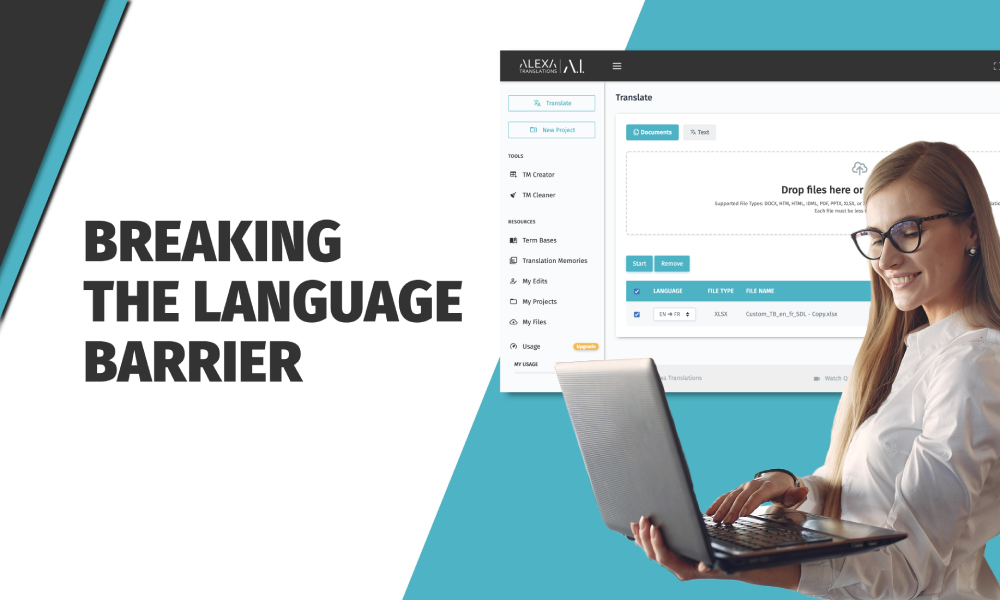 Breaking barriers with next level A.I.-powered translations