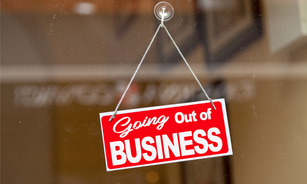 Canadian businesses forced to restructure to avoid insolvency