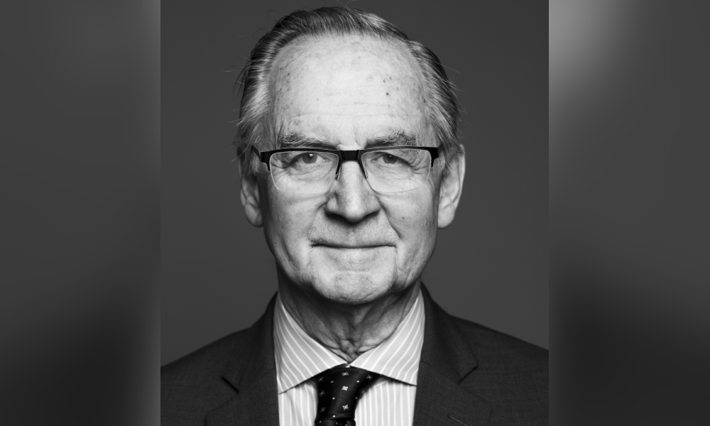 Litigator, arbitrator and former Supreme Court judge Ian Binnie reflects on the law then and now