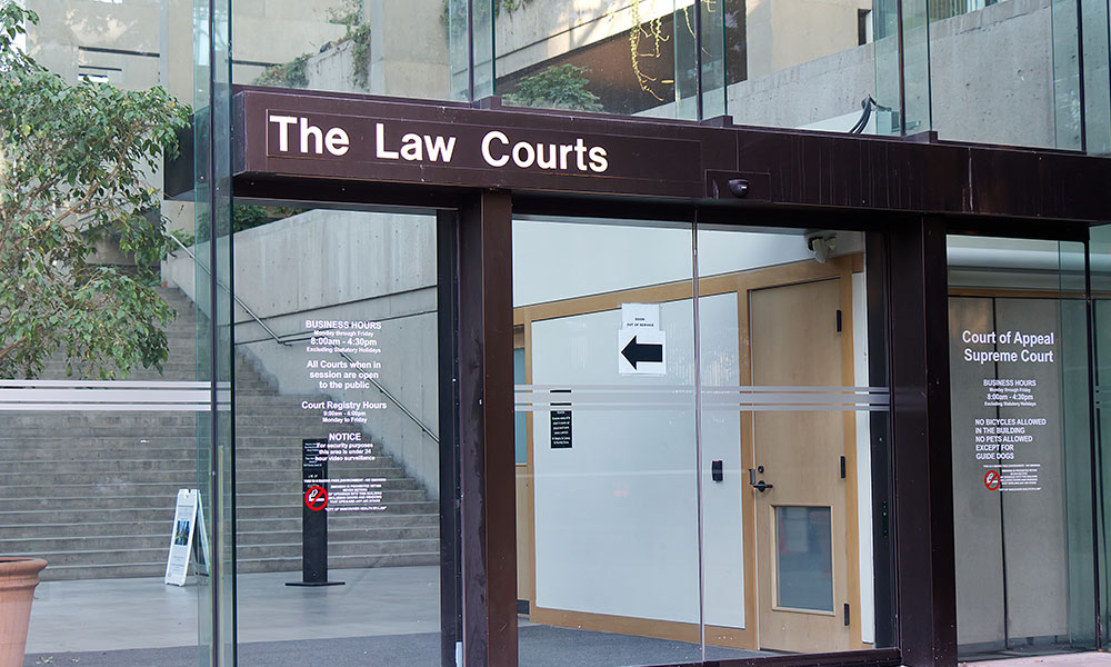 B.C. Court of Appeal quashes tribunal decision over decision not to allow lawyer to represent party