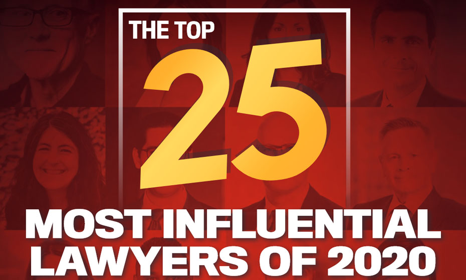 The Top 25 Most Influential Lawyers of 2020