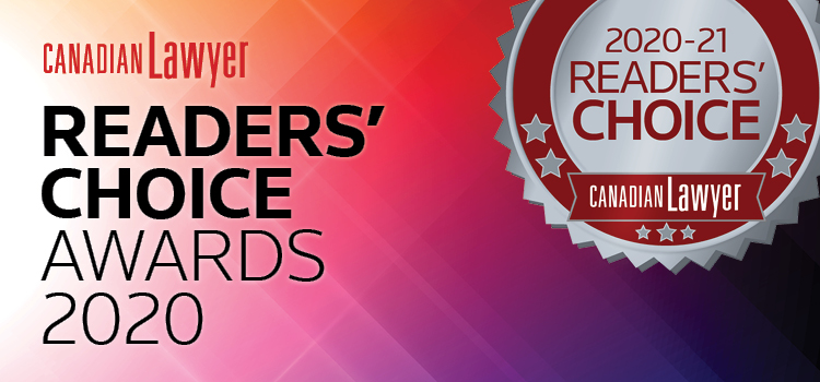 2020 Canadian Lawyer Readers' Choice Awards
