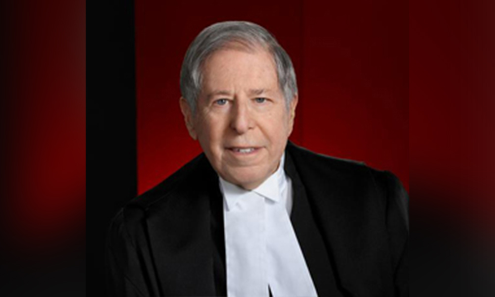Family law practitioner Philip Epstein is invested into Order of Canada
