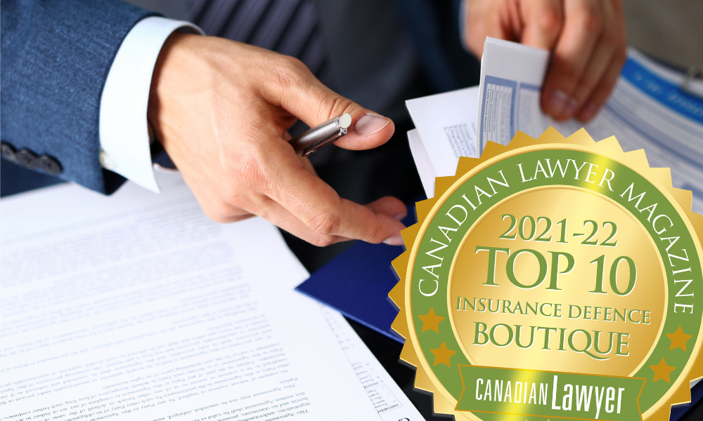 2021 Top Insurance Defence Law Boutiques