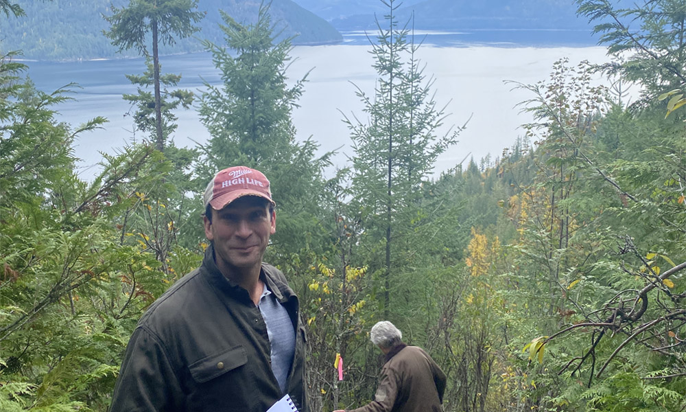 Calgary lawyer Jeff Kahane could have bought carbon credits, but instead purchased land in B.C.