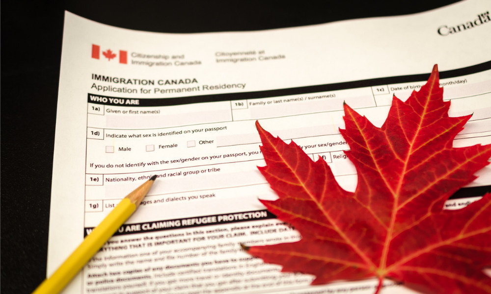 Immigration consultant charged under Immigration and Refugee Protection Act