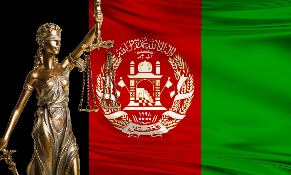 Afghan female judges at particular risk amid Taliban takeover: law societies