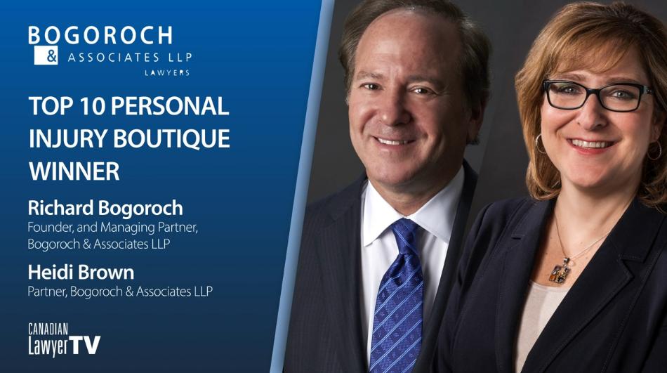 Bogoroch & Associates LLP, 2021 Top Personal Injury Boutique