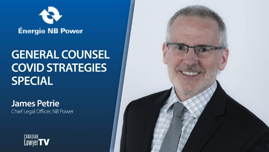 General Counsel Roundtable: James Petrie, NB Power