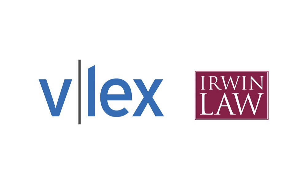vLex to exclusively host Irwin Law E-Library collection as of October