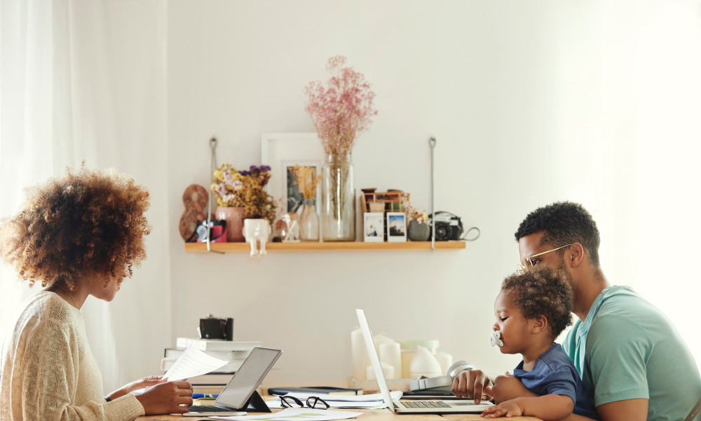 The hybrid workplace: separate but equal