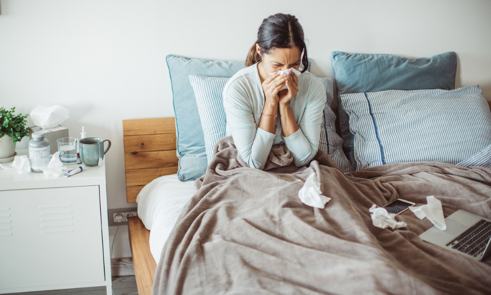 How should sick days be handled in a pandemic?
