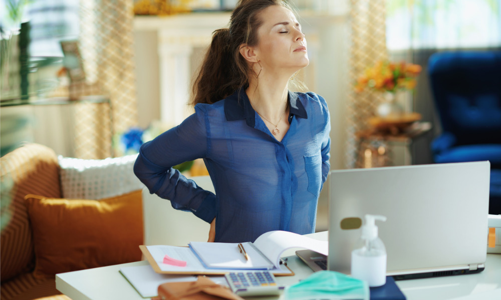 Ergonomics challenge many remote workers: Survey