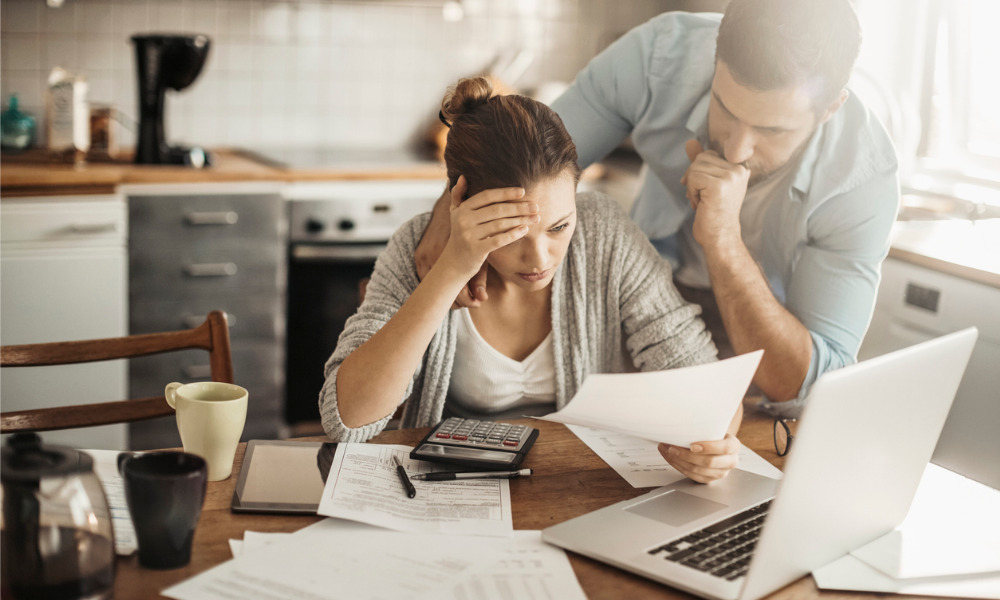 Financial stress a big issue for many Canadians