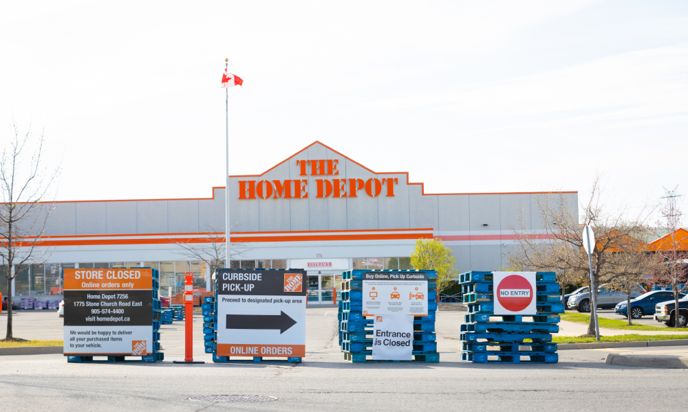 Home Depot gives out raises to frontline workers