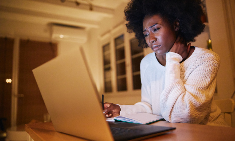 Physical, mental health suffer with work from home