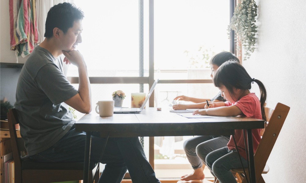 How far should accommodation go with parents working from home?