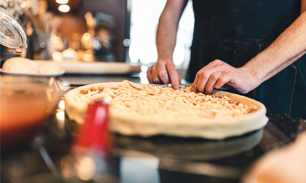 Pizza shop employee falls short of expectations
