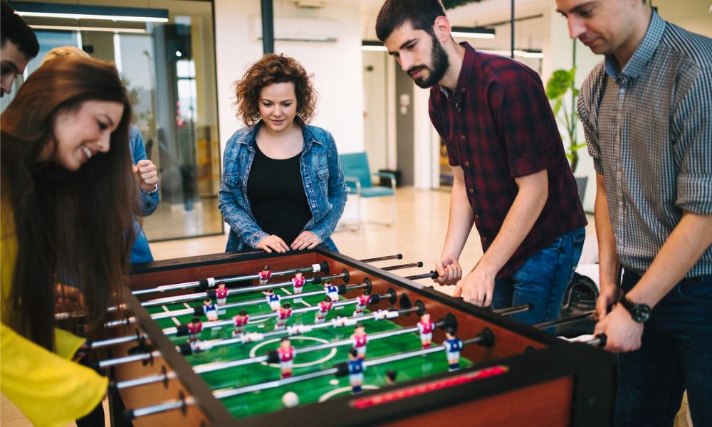 Office perks in a hybrid workplace
