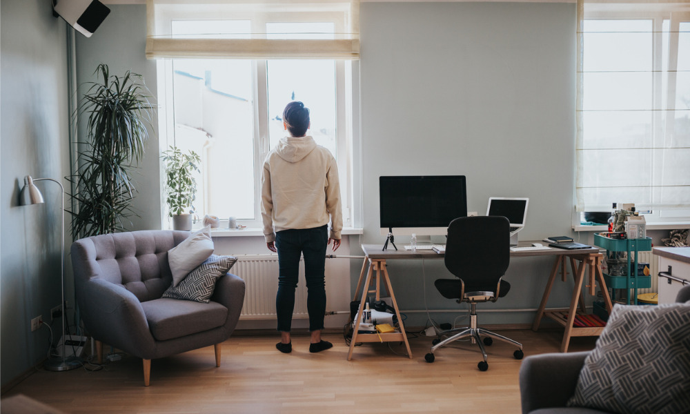 Confronting the isolation of work from home