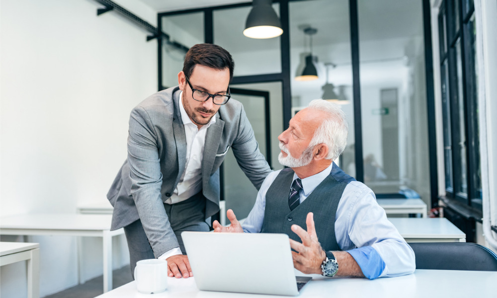 Inquiring about employee's retirement plans