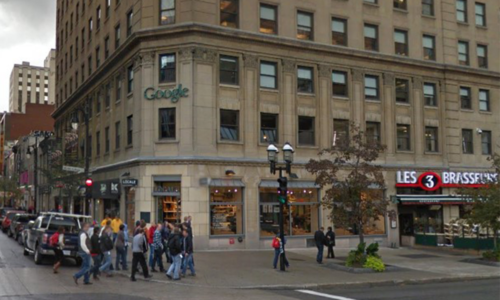Google to build 3 new offices in Canada
