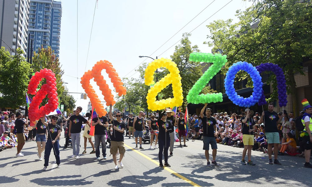 Amazon employees join virtual Pride parade in Vancouver