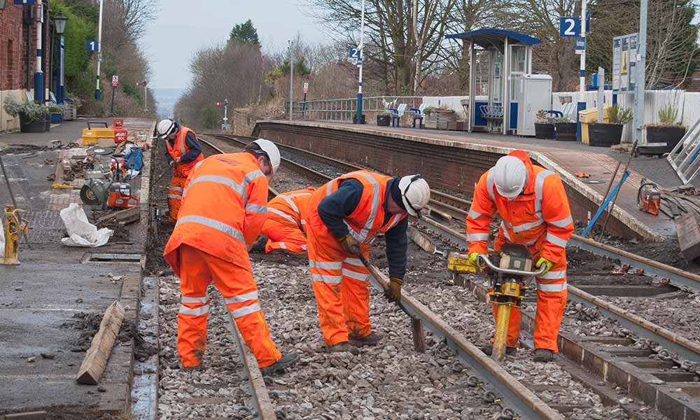 Discrimination against railway worker partly justified