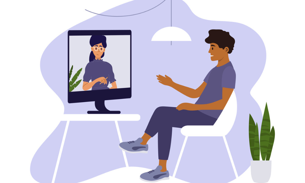 Online therapy offers support