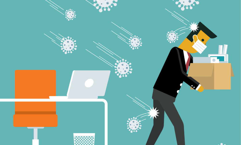 How will the pandemic impact employee notice periods?