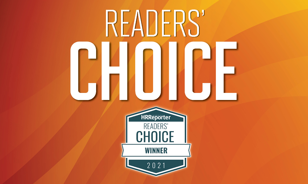 Canadian HR Reporter Readers' Choice 2021