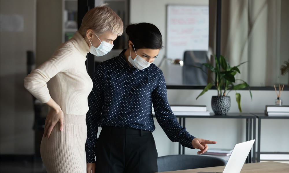 Ontario requires use of face coverings in workplaces